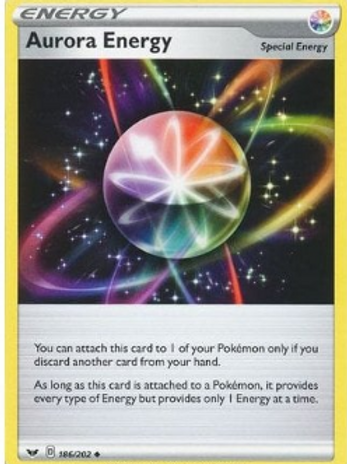 Aurora Energy 186/202 - Sword & Shield Base Set - Pokemon