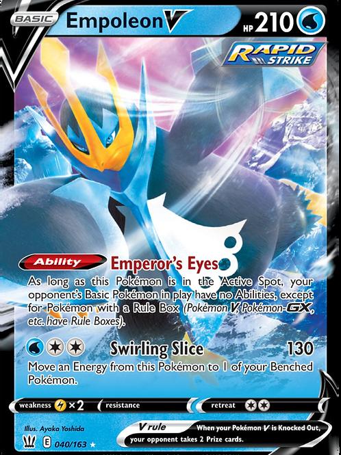 Empoleon V - 040/163 - SWSH Battle Styles - Pokemon