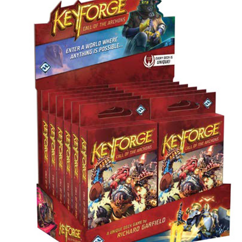 Keyforge: Call of the Archons - Deck booster box (contains x12 unique decks)