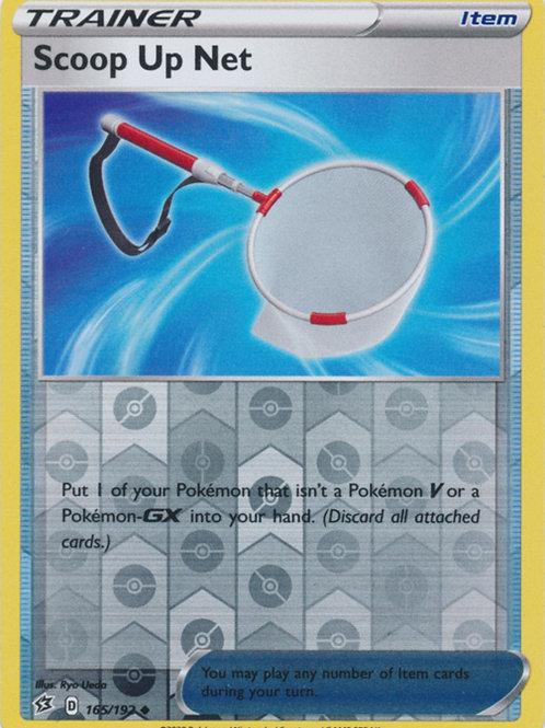 Pokemon SWSH Rebel Clash 165/192 Scoop Up Net (Reverse holo)