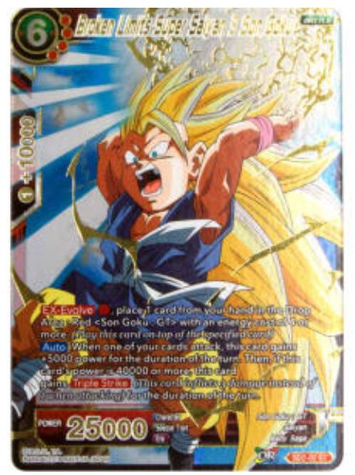 Broken Limits Super Saiyan 3 Son Goku  ( Foil) - SD2-02  - Dragon Ball Super TCG