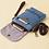 Thumbnail: Totoro Mini Canvas Shoulder  Pouch / Bag (Pink)