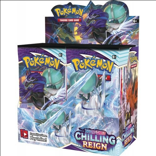 Chilling Reign Booster Box - Pokemon SWSH
