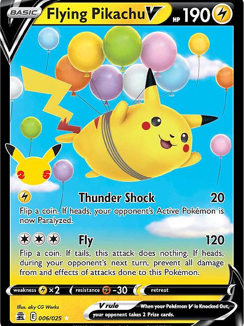 Flying Pikachu V 006/025 - Pokemon Celebrations - TCG
