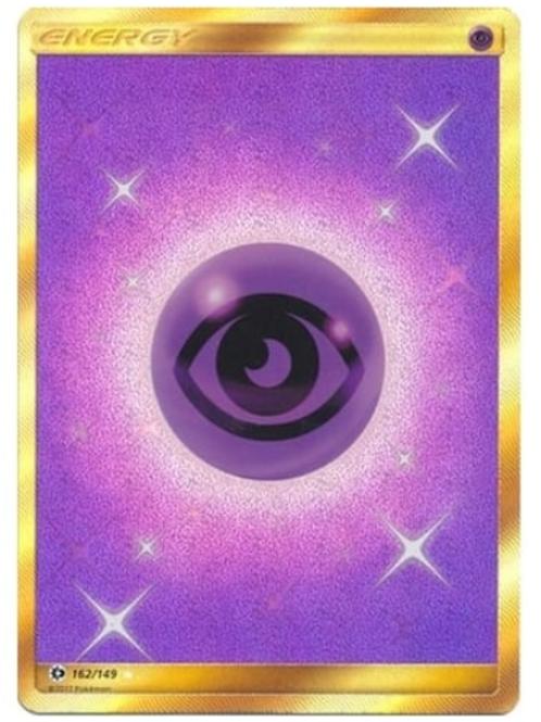 POKEMON Sun and Moon (Base Set) 162/149 Psychic Energy (Secret Rare)