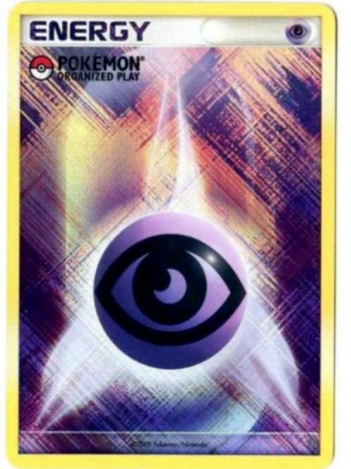 Pokemon Organized Play Psychic Energy
