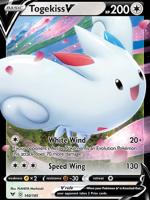 Togekiss V - 140/185 - SWSH Vivid Voltage - Pokemon