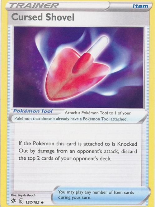 Cursed Shovel 157/192 - SWSH Rebel Clash - Pokemon