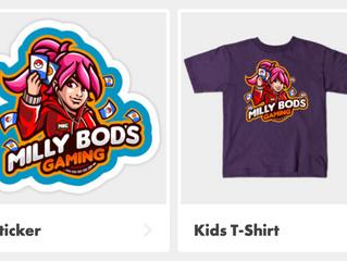 New Store Merchandise via TeePublic