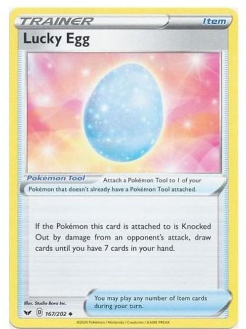 Lucky Egg 167/202 - Sword & Shield Base Set - Pokemon
