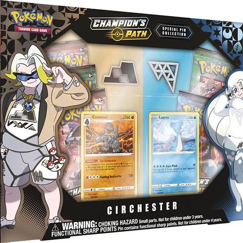 Pokemon Champions Path - Circhester Pin Box