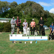 HBDTC members on the podium at the NDOA