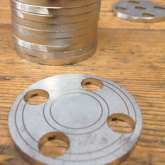 Metal Peruke discs