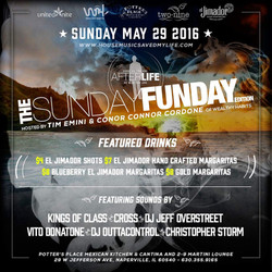 Sunday Funday May 29, 2016 Flyer