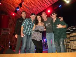 TK's Stage With Hillbilly Rockstarz