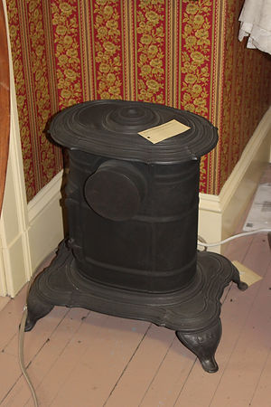 Small Coal Stove Made in Houlton