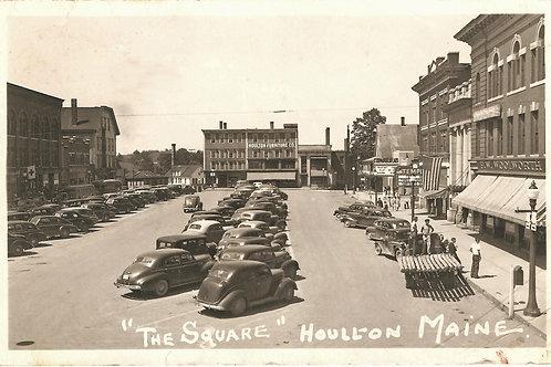 11 X 17 Market Square 1940's