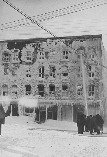 Hotel Lafayette fire, Thibodeau Block, r