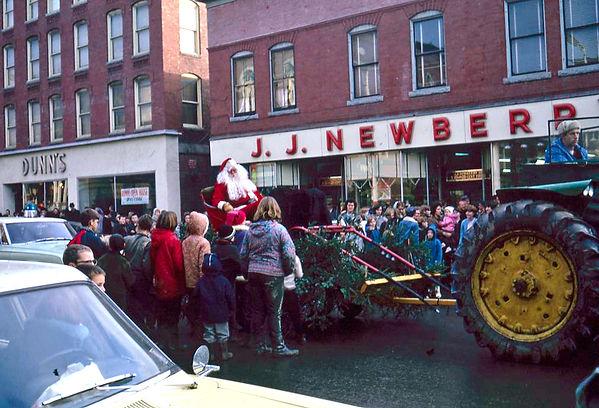 Santa and tractor 1966.jpg