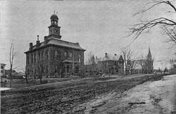 Court House Jail House Unitarian Church