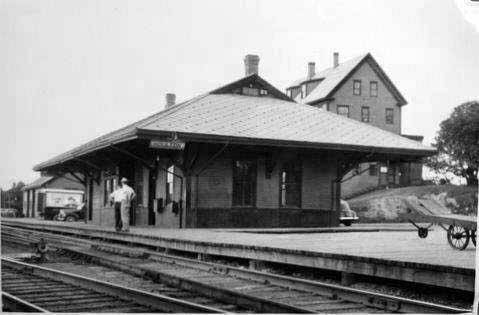B & A Railway Station Houlton