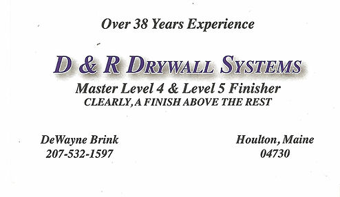 D & R Drywall Systems