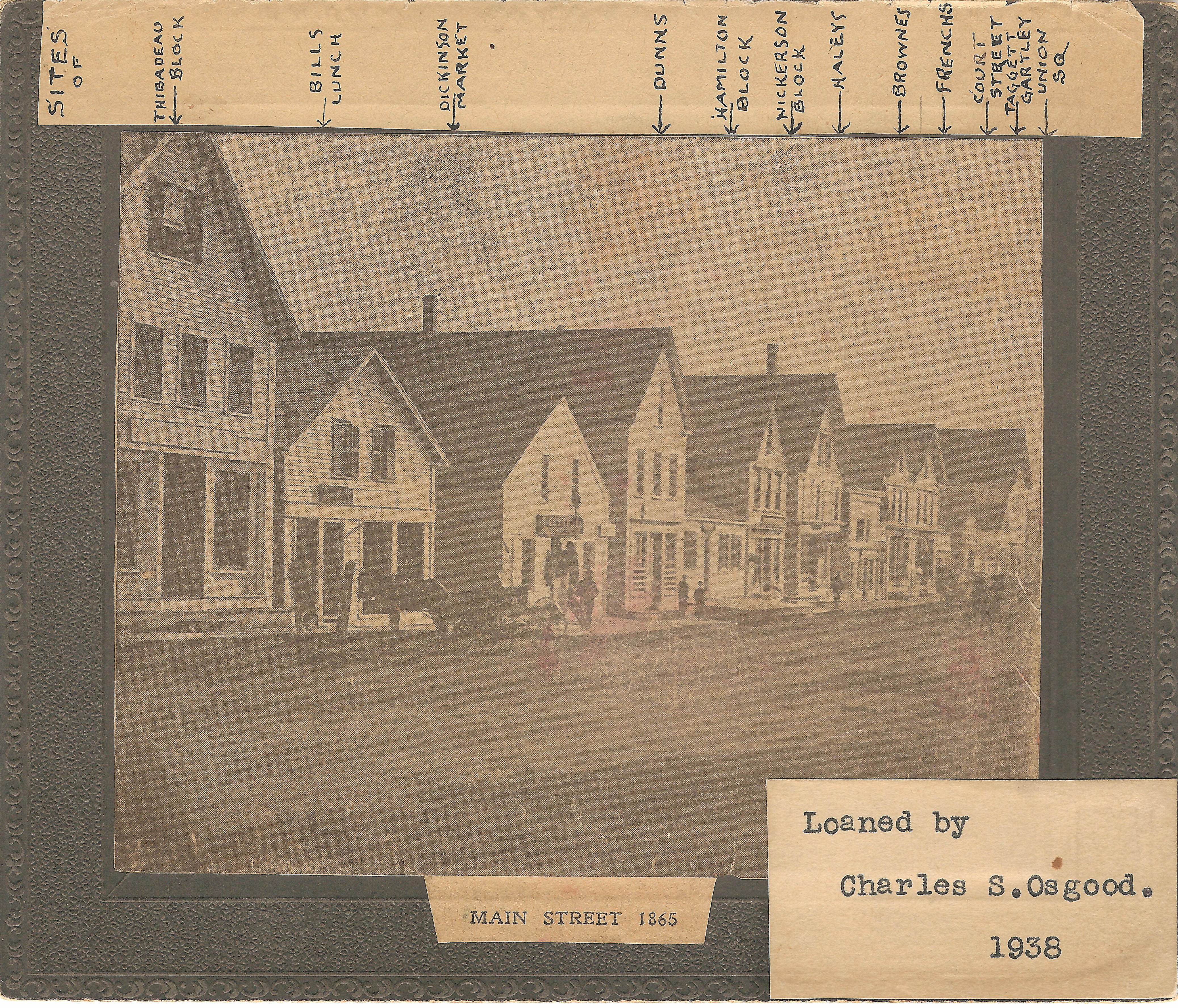 Main Street 1865 Osgood Collection