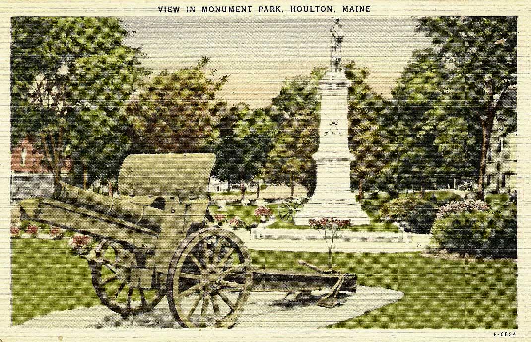 Monument Park Houlton