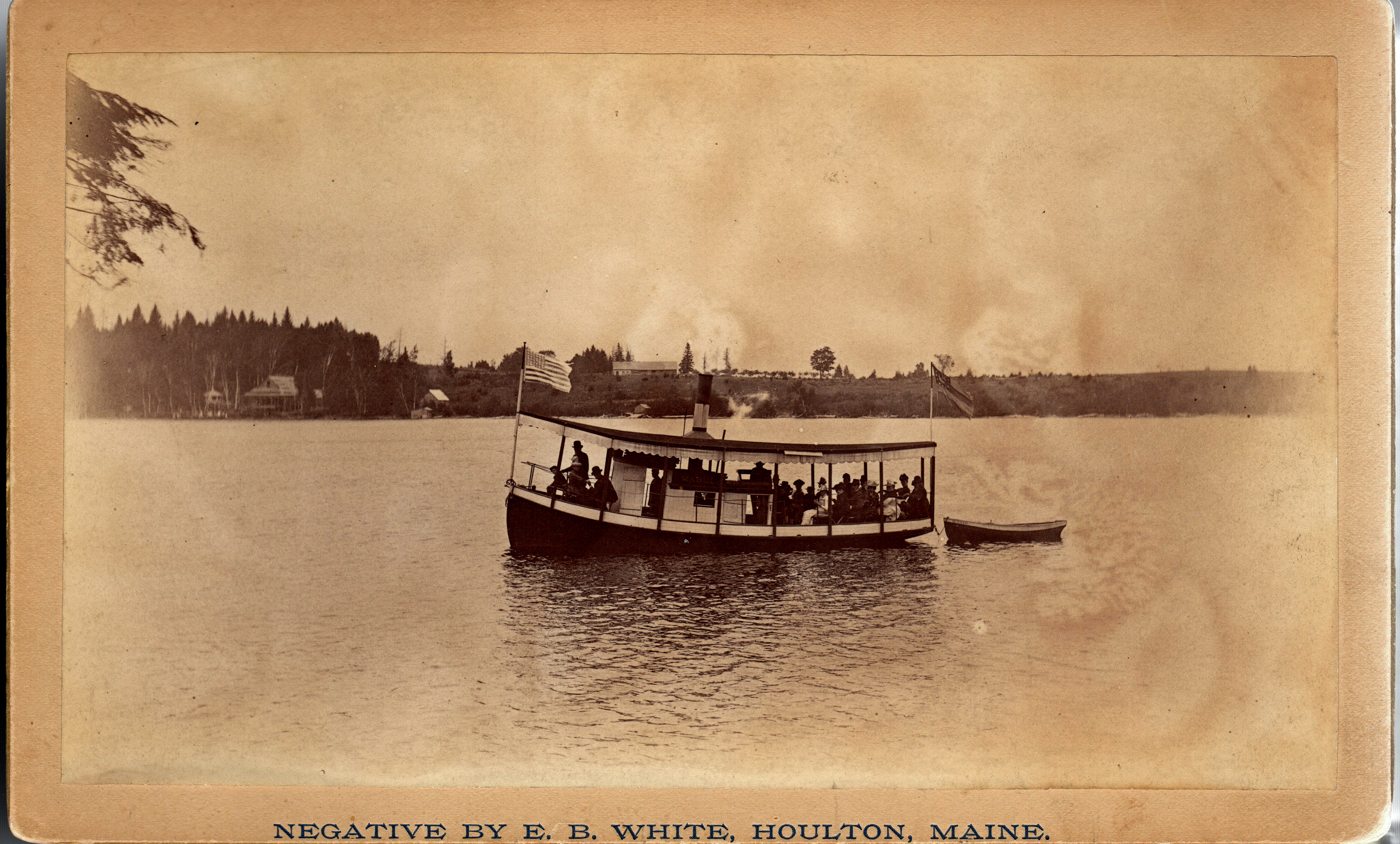 """""""Mable"""" Steam boat on Nickerson Lake"""