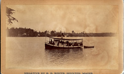 """Mable"" Steam boat on Nickerson Lake"