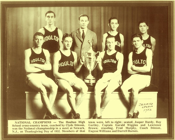 HHS Cross Country 1932