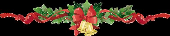 christmas garland transparent-png.png