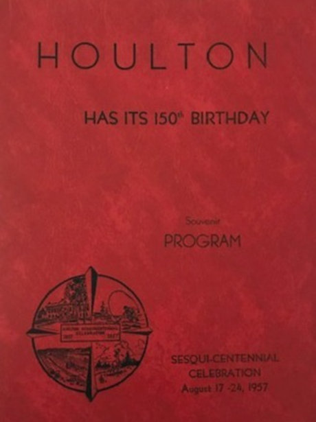 Houlton's Sesquicentennial Booklet from 1957