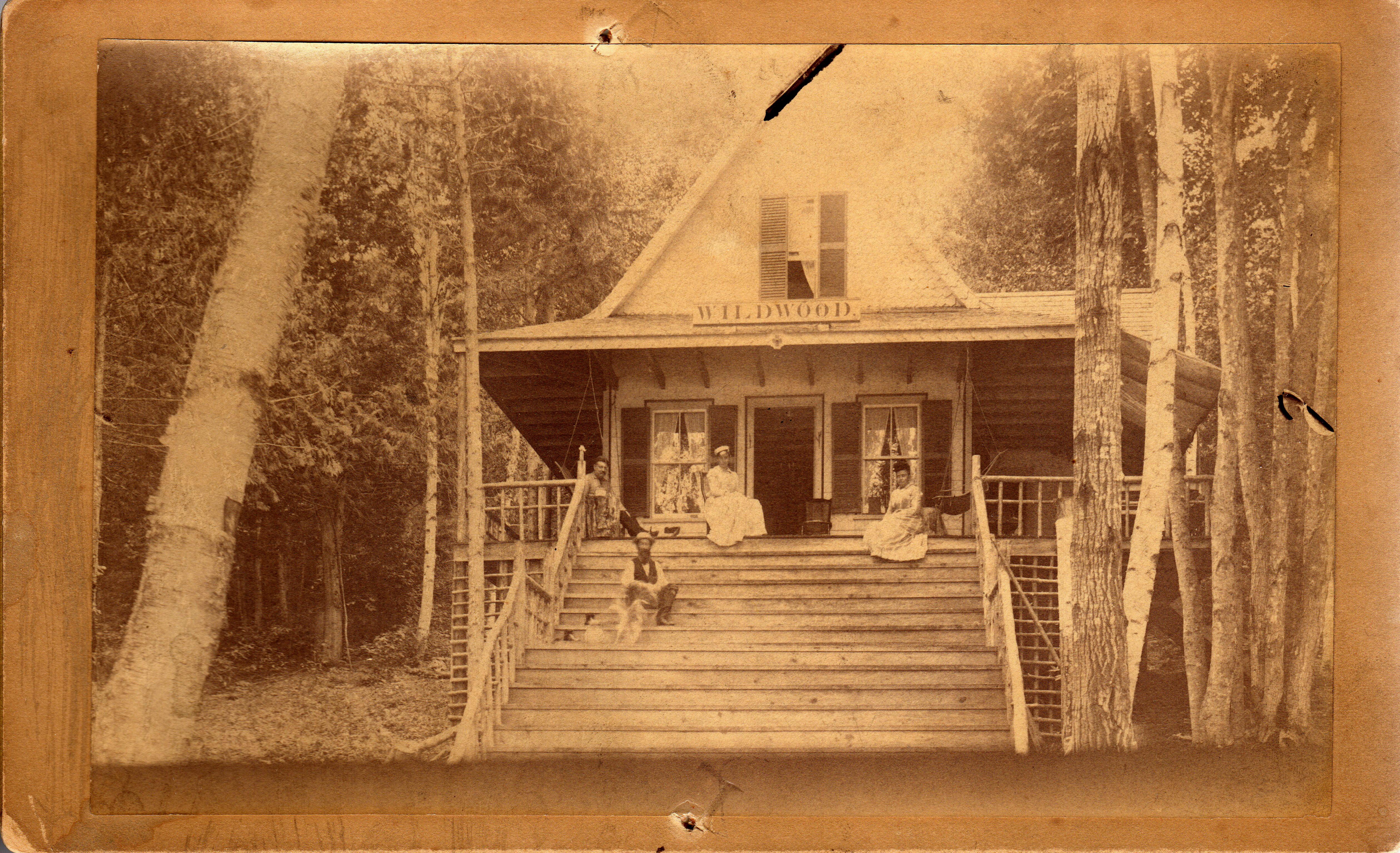 "Charles West Camp ""Wild Wood"""