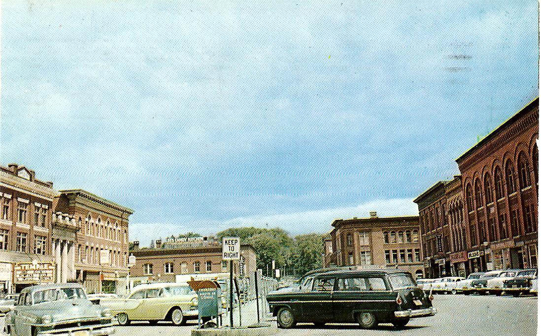 Market Square 1950's