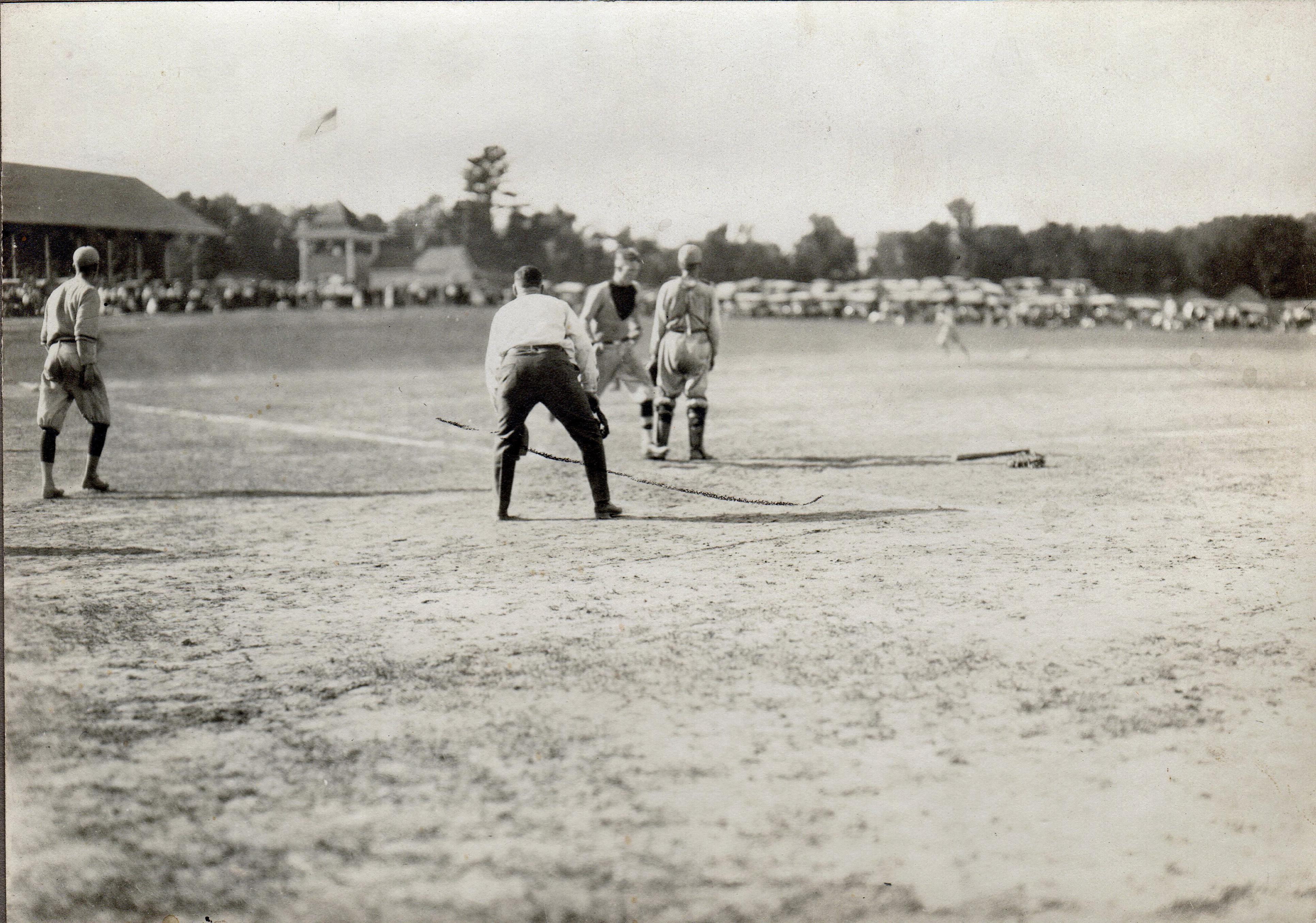 Ball Game at North Street Park