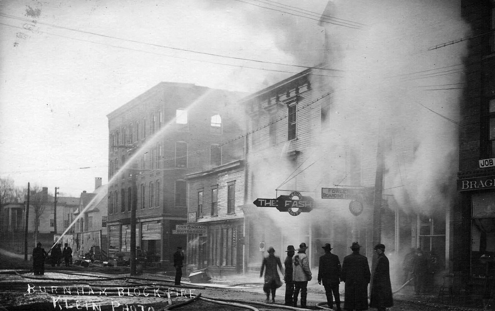 Burnham Block Fire