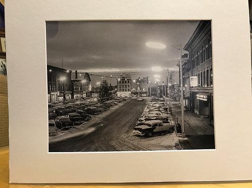 Market Square Christmas 1958   8 X 10