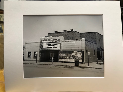 "The ""Houlton Theater"" in Market Square 8 X 10"