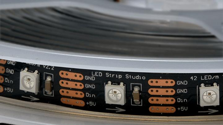 RGB SK6812 LED Strip IP65