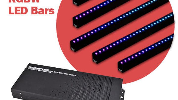 RGBW LED Bars pack