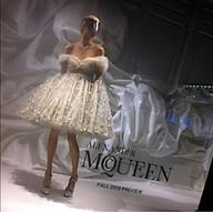 Alexander MQueen Fall Display