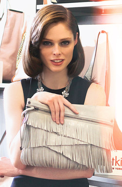 Coco Rocha - Botkier Handbags