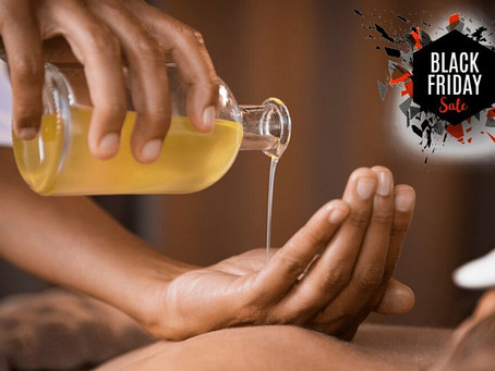 Black Friday Massage Sale - R400 OFF! Hurry!