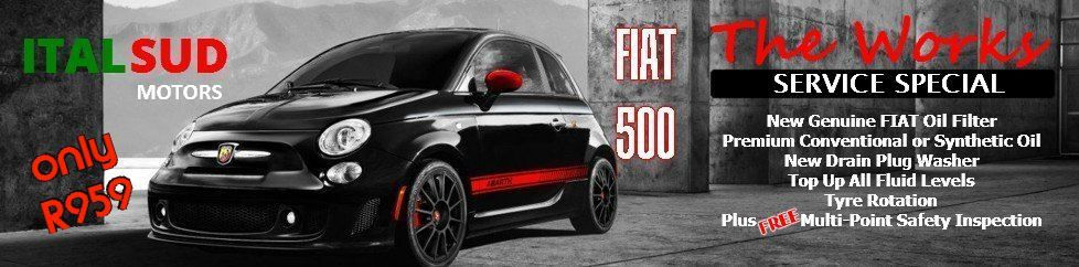 FIAT 500 service special