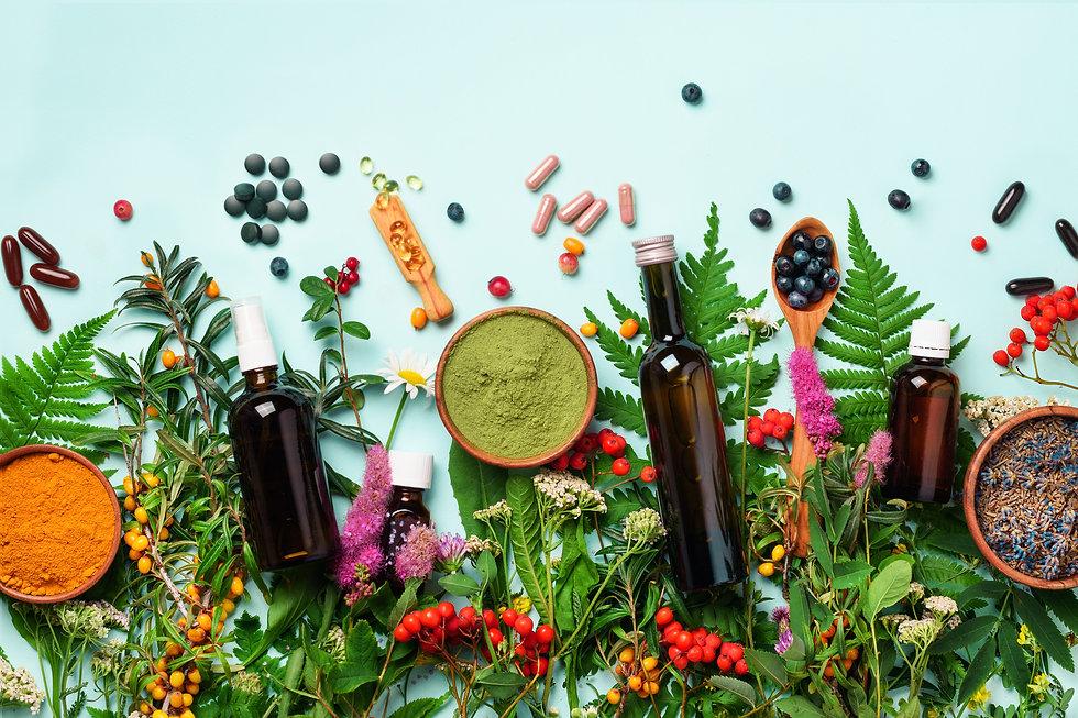 Alternative medicine. Holistic approach.