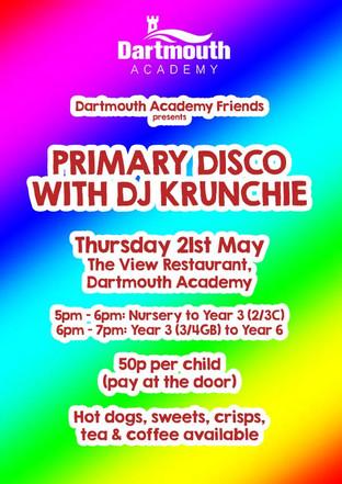 Primary Disco with DJ Krunchie