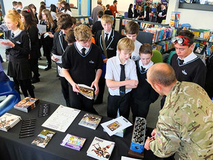 Careers Fair inspires and informs students of all ages at Dartmouth Academy