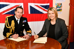 Twinning between Britannia Royal Naval College and Dartmouth Academy