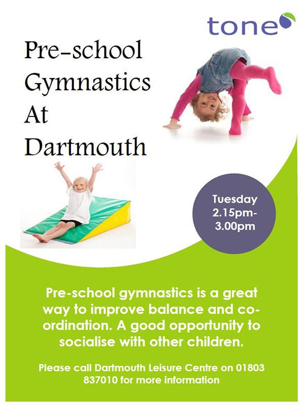 Dartmouth Leisure Centre - Pre School Gym poster - June 2015 - 600px.jpg
